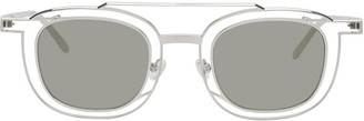 Thierry Lasry Silver and Grey Gendery Sunglasses