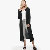James Perse Ribbed Cashmere Robe Coat