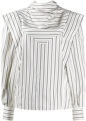 Isabel Marant Long-Sleeved Silk Shirt