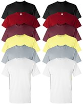 Gildan mens Heavy Cotton 5.3 oz. T-Shirt(G500)-CARRD/GREY/M//HA-XL-2PK