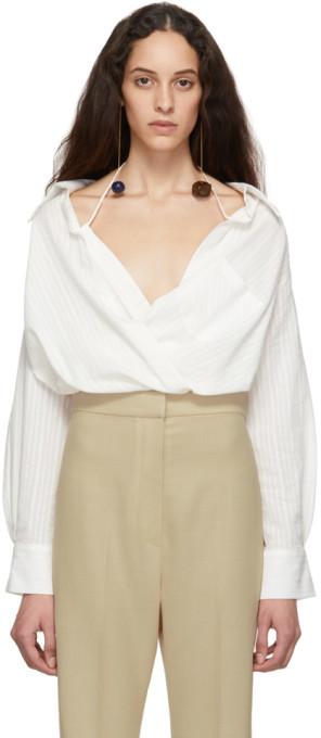 Jacquemus Off-White La Chemise Siena Shirt