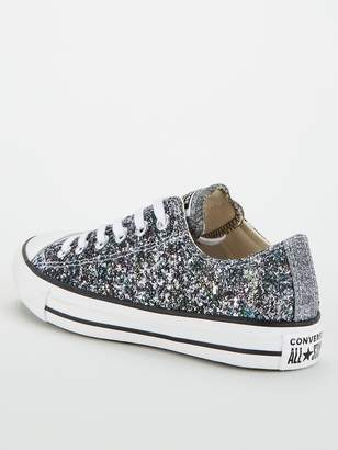 Converse Galaxy Dust Chuck Taylor All Star Low Top - Silver/White