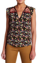 Veronica Beard Rincon Silk Blouse