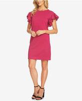 CeCe Ruffle-Sleeve Sweater Dress