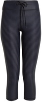 The Upside NYC Night Stripe-print performance leggings