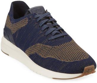 Cole Haan Men's Grand Pro Two-Tone Knit Runner Sneaker