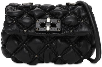 Valentino Small Spikeme Micro Studs Shoulder Bag