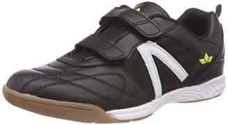Lico Unisex Adults' Action V Multisport Indoor Shoes, Black Schwarz/Weiß/Lemon