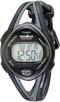 Timex Women's T5K039 Ironman Sleek 50 Mid-Size Resin Strap Watch