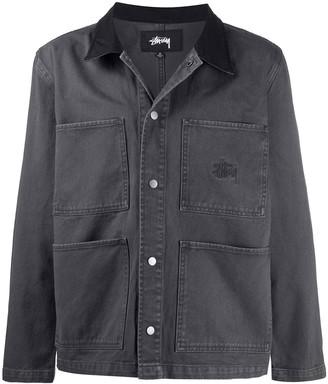 Stussy Patch-Pocket Denim Jacket