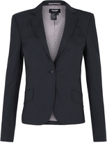 Oxford Pixie Stretch Wool Jackt Charcoal X