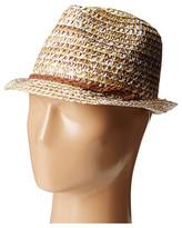 Steve Madden Tonal Fedora Hat
