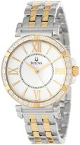 Bulova Women's 98R167 Diamond Case Watch