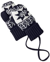 Baby Nordic Knitting Mouse Mittens