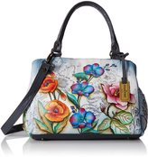 Anuschka Triple Compartment Satchel FLFY