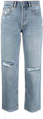 Boyish Tommy distressed straight leg jeans