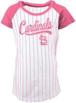 5th & Ocean St. Louis Cardinals Pinstripe T-Shirt, Girls (4-16)