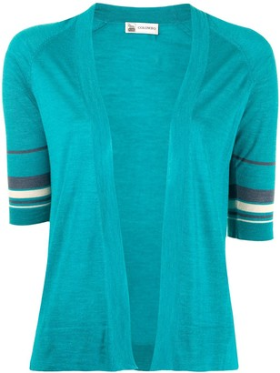 Colombo Layered Silk-Cashmere-Blend Knit Top