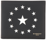 Givenchy Star Print Billfold Wallet