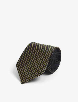 Lanvin Dotted silk tie