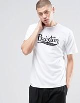 Brixton T-shirt With Large Logo