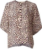 Givenchy leopard print blouse