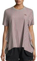 Opening Ceremony Striped Delta Tee