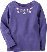 Carter's Girls 4-8 Tassel Necklace Top