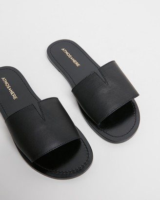 Atmos & Here Maddie Leather Sandals