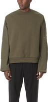Alexander Wang Vintage Fleece Nylon Pullover