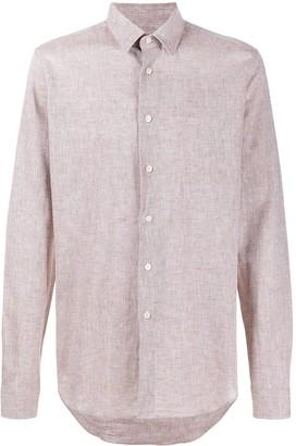 Dell'oglio Plain Buttoned Shirt