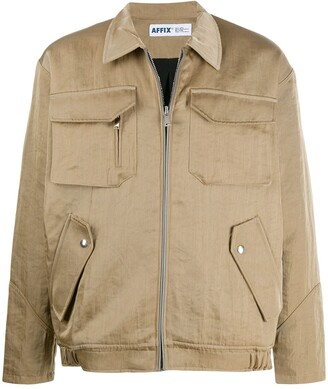 AFFIX Multi-Pocket Zip-Up Jacket