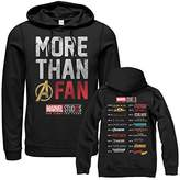 Fifth Sun Marvel Men's 10th Anniversary More Than a Fan Hoodie