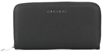 Orciani Logo Plaque Wallet