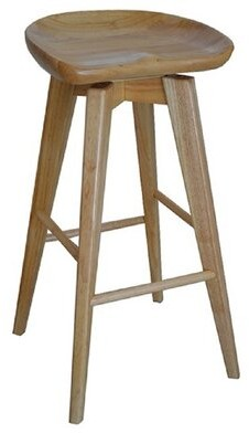 Gracie Oaks Manzer Bar & Counter Swivel Stool Seat Height: Bar Stool (29a Seat Height), Color: Light Brown