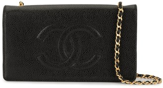 Chanel Pre-Owned CC embroidered WOC