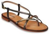 Les Tropéziennes PAR M.BELARBI Monaco Flat Leather Sandals