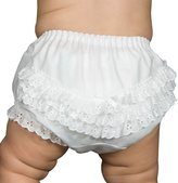 IC Collections I.C. Collections Baby Girls Batiste Rumba Diaper Cover Bloomers, Size M