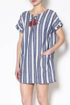 Tularosa Blue Stripe Dress