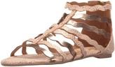 Qupid Women's Lana-449 Gladiator Sandal