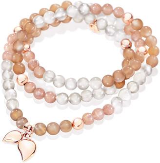Tamara Comolli India 18k Rose Gold Moonstone Bracelet