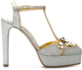 Casadei embellished Mary Jane pumps