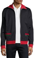 Gucci Web Track Jacket, Navy