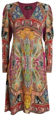 Etro Paisley Print Mini Dress