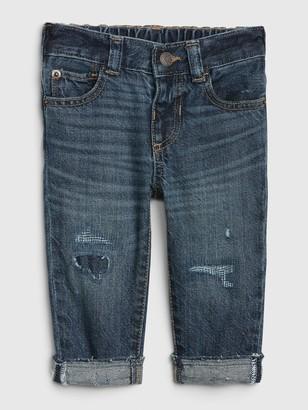 Gap Baby Destructed Easy Slim Fit Jeans