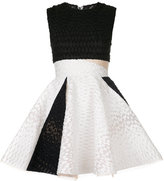 Alex Perry Griffith flared mini dress