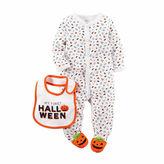 Carter's Halloween 2-pc. Bodysuit and Bib Set - Babies newborn-9m