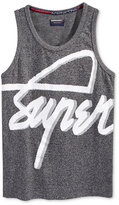 Superdry Men's Graphic-Print Logo Cotton Tank
