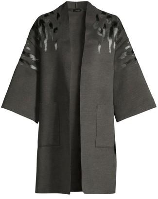 Josie Natori Felted Kimono Topper