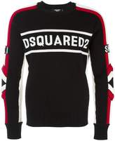 DSQUARED2 Ski logo jumper